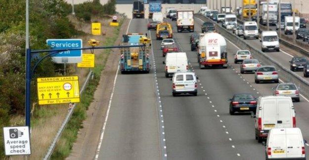 La autopista de las obras que el límite de velocidad para ser levantado