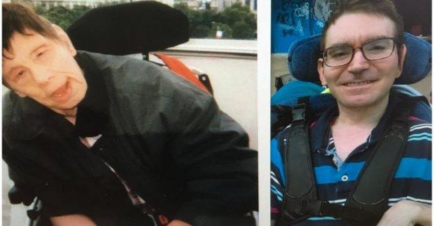La justicia buscado para los hombres discapacitados herido en la atención