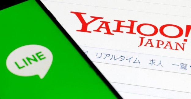 La pandemia de retrasos de Yahoo Japón, la Línea de fusión en octubre pasado