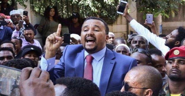 La parte superior de Etiopía político arrestados durante las protestas