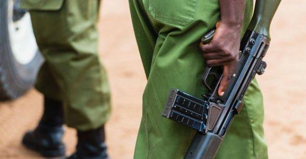 La policía de kenia detenido después del fatal tiroteo