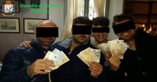 La policía italiana estación cierran sobre las denuncias de tortura