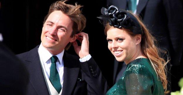 La princesa Beatriz casa en ceremonia privada en Windsor