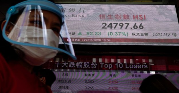 Las bolsas de asia mezclado en medio de NOSOTROS-China feudo, zozobra económica