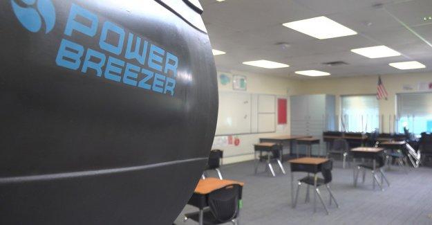 Las escuelas utilizan la energía de los fans para combatir COVID-19