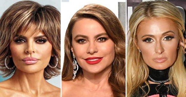 Lisa Rinna, Sofía Vergara, Paris Hilton y más no patriótico trajes de baño, pantalones cortos para el Cuarto de julio