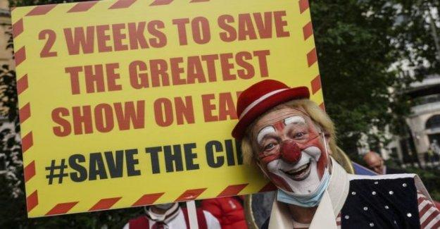 Los circos de la llamada de emergencia, el apoyo del gobierno