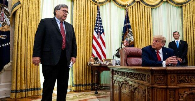 Los demócratas para enfrentar el Fiscal General William Barr sobre las intervenciones en los asuntos de interés para el Triunfo