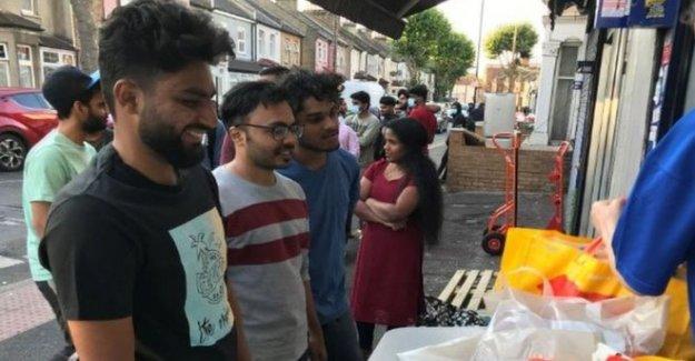 Los estudiantes internacionales que recurrir a los bancos de alimentos en lockdown