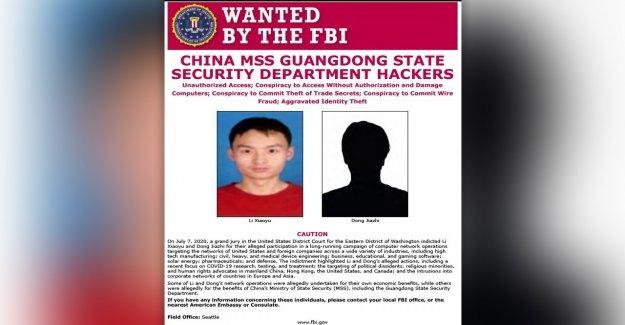 Los hackers chinos acusados por el DEPARTAMENTO de justicia también detrás de pastor de prisión