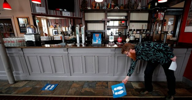 Los pubs ingleses de reapertura — que no será el mismo