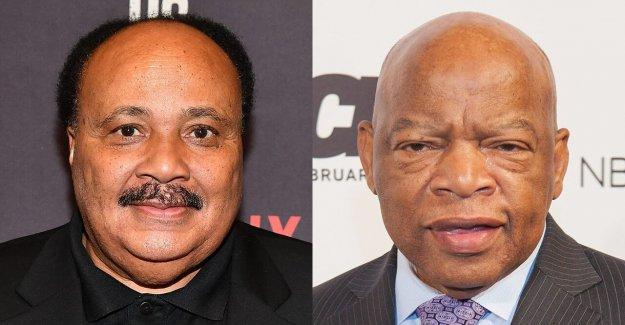 Martin Luther King III: John Lewis 'personificación' 'deseo de participar y lograr el cambio'