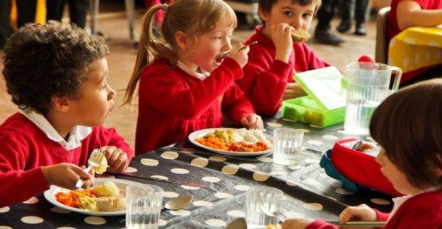 Más comidas escolares gratuitas 'dejaría de dieta de desastres