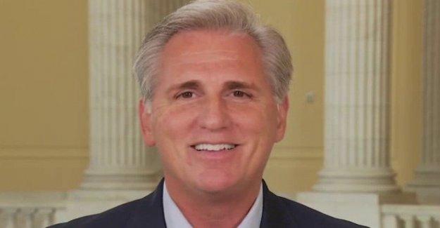 McCarthy advierte de que si el partido REPUBLICANO no gana en noviembre, los Demócratas 'va a cambiar las reglas del juego'