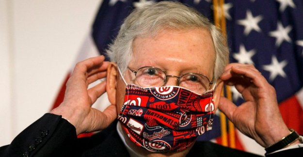 McConnell se establecen para dar a conocer el nuevo virus de la ayuda, a pesar de GOP de la revuelta de los