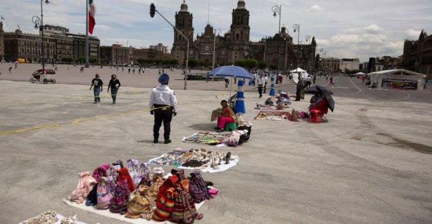 México economía caída del 18,9% en el 2º trimestre