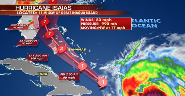 Miami-Dade, el alcalde le dice a los residentes a prepararse para el Huracán Isaías, cierra coronavirus los sitios de la prueba