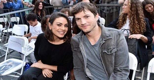 Mila Kunis alaba a Ashton Kutcher para ser un 'fantástico' maestro, mientras que la educación en el hogar de niños