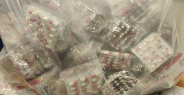 Miles de 'diazepam tabletas' incautados en el este de Belfast