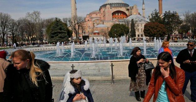Museo o de la mezquita? Turquía debates de la emblemática iglesia de Santa Sofía del estado