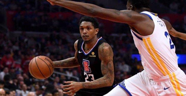 NBA comprobar si LA Clippers' Lou Williams fue para el club de la tira, mientras que fuera de la burbuja: informe