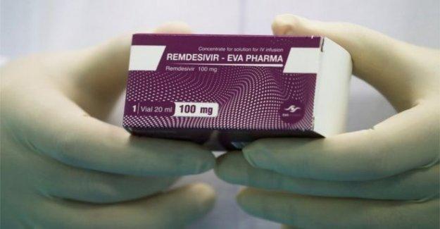 NOS compra casi todos los de Covid-19 de drogas remdesivir
