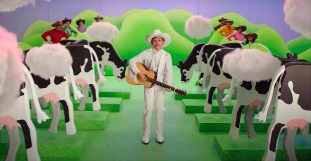 NOSOTROS los agricultores de carne de vacuno con Burger King sobre la vaca pedo ad