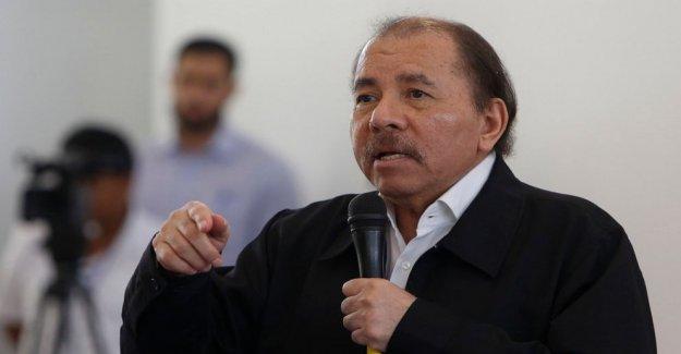 NOSOTROS sanciones hijo de Nicaragua, el Presidente Daniel Ortega