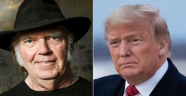 Neil Young malestar Trump evento utilizó su canción: 'Esto NO está bien conmigo
