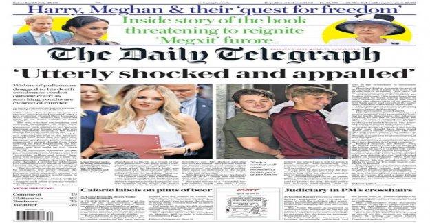 'No hay justicia' para PC Harper y 'Royal desglose'