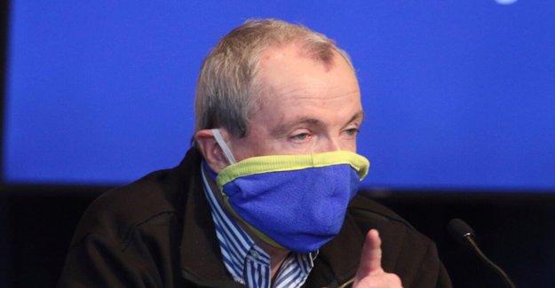 Nueva Jersey gobierno. Murphy advierte a los residentes después de espiga coronavirus: Estamos de pie en un lugar muy peligroso'