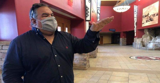 Nuevo México tribu transforma lo viejo casino en movie studio
