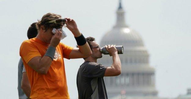 Ola de calor en los asados de Washington DC, rompe récord de más de 90 grados días en el mes