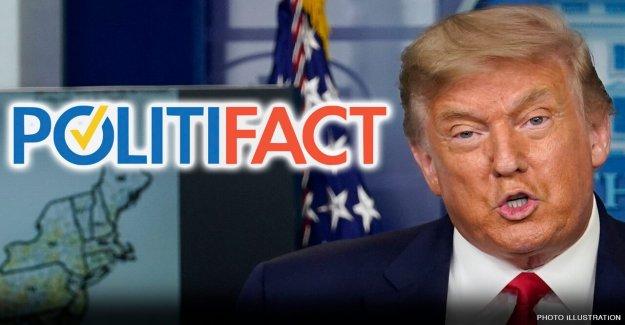 PolitiFact caras de reacción para explicar por qué Trump 'mantenido' promesa de campaña de no cortar los programas de derecho