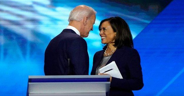 Politico accidentalmente informes Biden recogido Kamala Harris como su compañero de fórmula