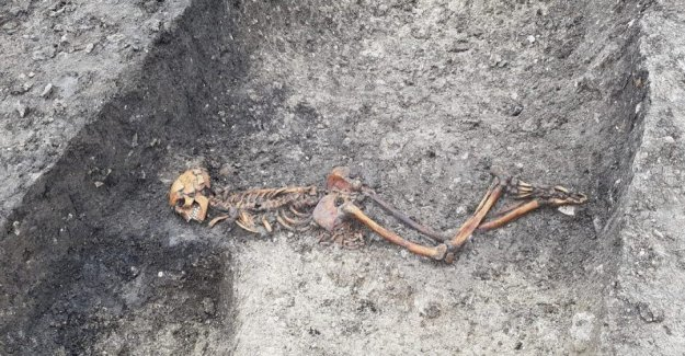 Potencial de la Edad de Hierro 'víctima de asesinato descubierto
