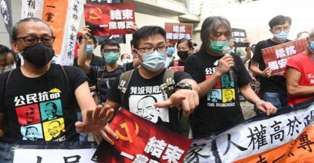 Primeras detenciones en virtud de Hong Kong 'anti-protesta' de la ley