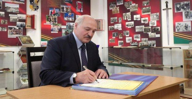 Prohibido el candidato presidencial huye de Bielorrusia, por miedo a ser detenidos