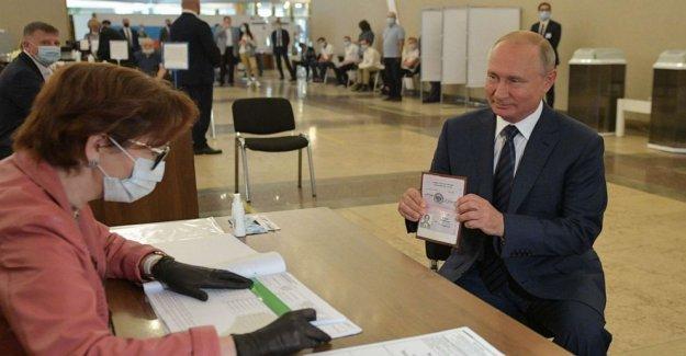 Putin concedió derecho a extender la regla hasta 2036 en el abrumador resultado del referéndum