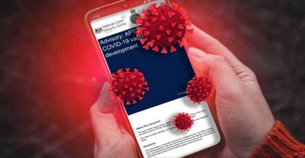 Ruso espías 'destino coronavirus vacuna