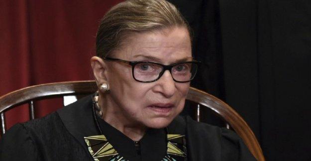 Ruth Bader Ginsburg dados de alta del hospital después del procedimiento a principios de esta semana