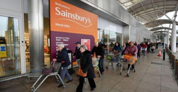 Sainsbury's pruebas de sistema de cola virtual