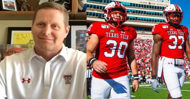 Se de fútbol de la universidad de retorno de este otoño? Texas Tech director de deportes dice que está listo para jugar, a pesar de coronavirus