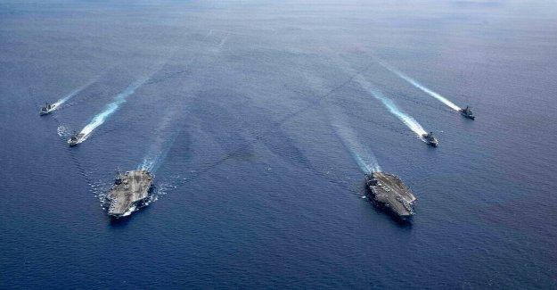 Se la Marina de llegar a 355 Barcos? El tamaño de la flota vs alta tecnología