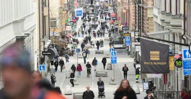 Suecia ve coronavirus de los casos de gota, después de la polémica evitar bloqueos