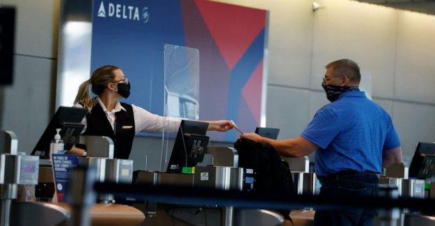 Suroeste, American apriete máscara de reglas; Delta ensancha pruebas