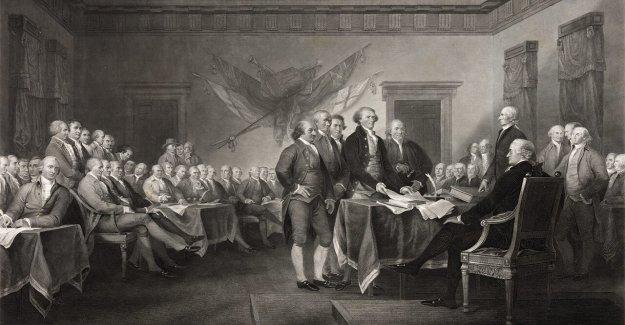 Thomas Jefferson, el original de la Declaración de Independencia de borrador: Ver las fotos