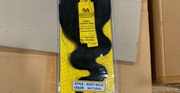 'Trabajos forzados' Chino cabello importaciones incautados por NOSOTROS