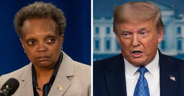 Trump, Lightfoot hablar por teléfono como el alcalde de Chicago, dice el presidente recibí el mensaje de' en delito federal respuesta
