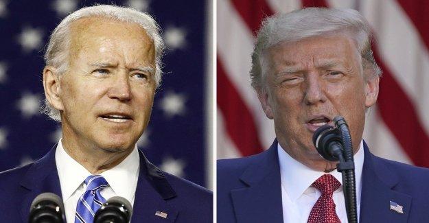 Trump abajo 15 puntos a Biden en la más reciente encuesta nacional